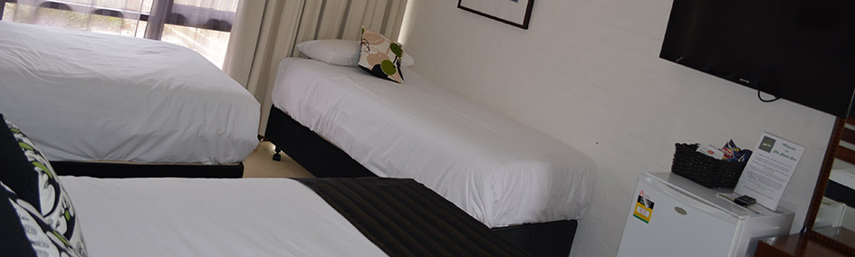 Comfortable rooms with parking at your doorstep and breakfast baskets available